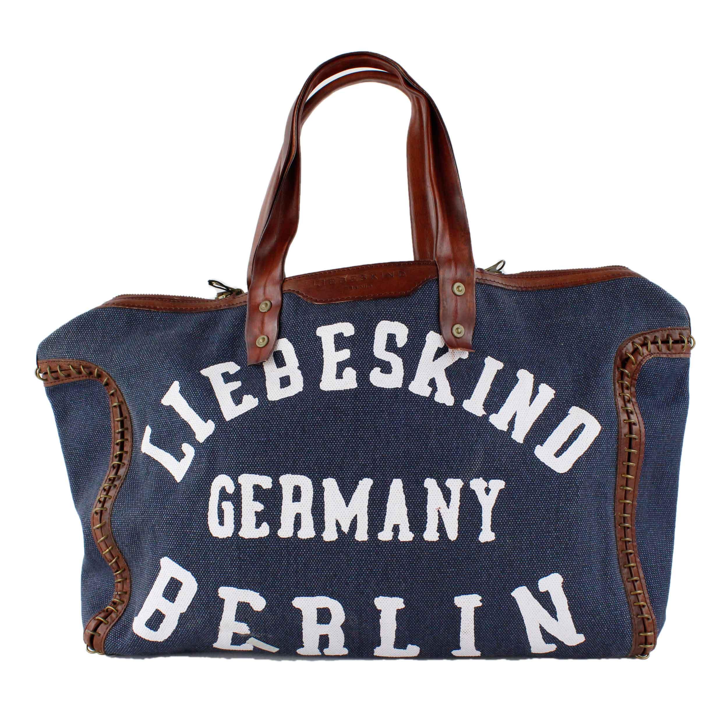 liebeskind berlin lkb tasche shopper wendetasche 2014 wendy 2 size blau sorbet ebay. Black Bedroom Furniture Sets. Home Design Ideas
