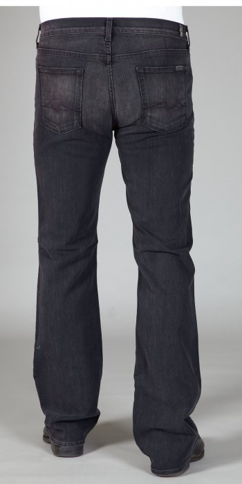 Seven for all Mankind Herren Long Bootcut Jeans in TOL