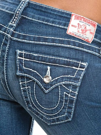 True Religion Damen Jeans Disco Diva Becky Big T P3 Med Laredo