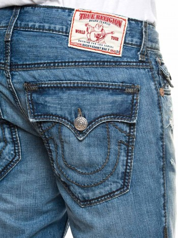 True Religion Herren Jeans Ricky Giant Big T F4-High Plains