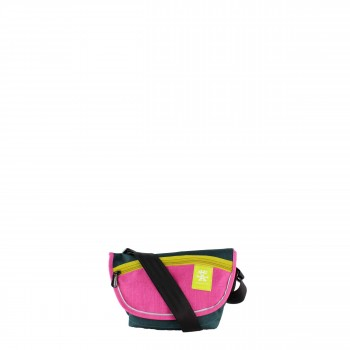 "Crumpler Bagging Tasche Umhängetasche ""Bagbino Sling"" in pink/ petrol"