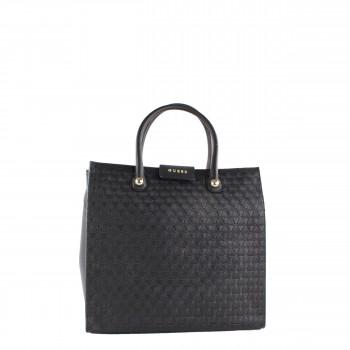 GUESS Luxe Damen Tasche aus Leder in schwarz HWADRIL5223