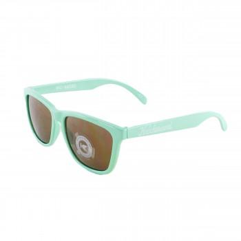 Knockaround Sonnenbrille Classic Premiums Amber Bio Based Seafoam Green Mint Grün
