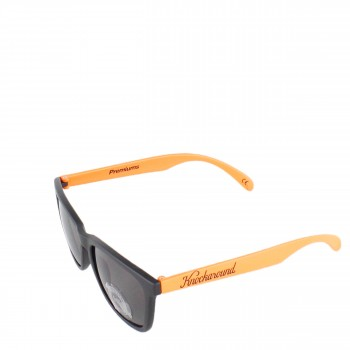 Knockaround Sonnenbrille Premiums Black Orange Throwbacks schwarz orange