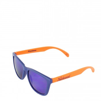 Knockaround Sonnenbrille Collegiate Premiums Navy Blue Orange Moonshine Premium blau orange