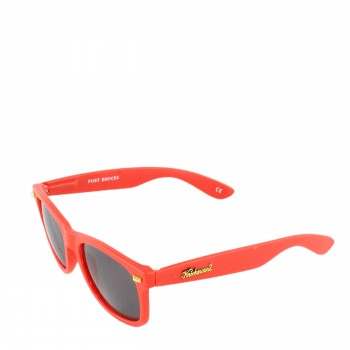 Knockaround Sonnenbrille Fort Knocks Matte Red Smoke matt rot grau
