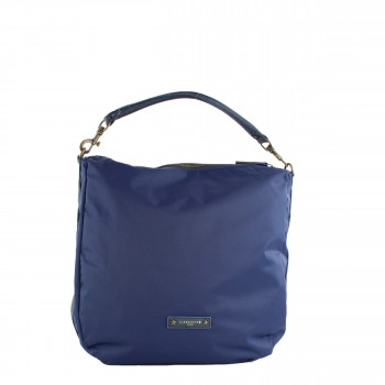 Liebeskind Berlin Tasche Shopper Ramona D Nylon in blau aus Leder