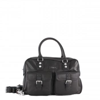 Liebeskind Berlin Tasche Business Frida B aus vintage Leder in schwarz