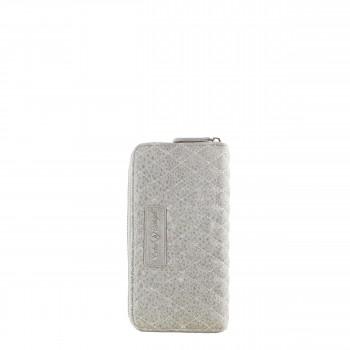 Schuhtzengel Geldbörse Fiona Vintage Leder in Stone Grey