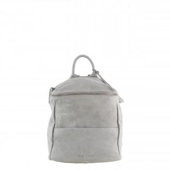 Schuhtzengel Rucksack/ Tasche Marlies in Vintage Leder 65138 in Stone Grey
