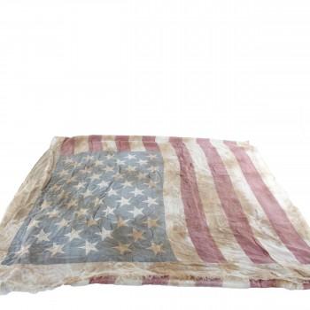 BATIK Schal Vintage USA Flagge