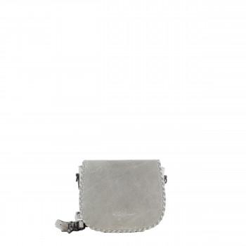 Schuhtzengel Tasche Auguste Vintage Leder 65251 in Stone Grey