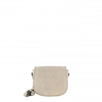 Schuhtzengel Tasche Auguste Vintage Leder 65251 in Taupe