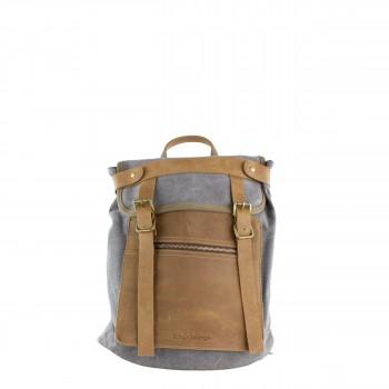 Schuhtzengel Rucksack Tasche John W1065 in Grau