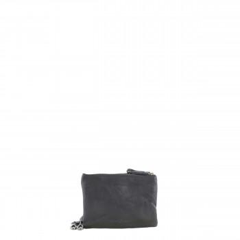Schuhtzengel Tasche Vigga Vintage Leder 65241 in Schwarz